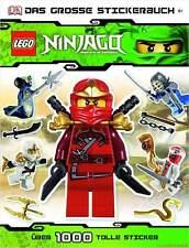 Fachbuch LEGO® Ninjago™, Großes Stickerbuch, über 1.000 Sticker, ab 6 Jahre, NEU
