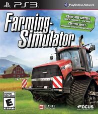 PS3 SIMULATION-FARMING SIMULATOR PS3 NEW