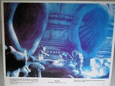 ALIEN 1979 Lobby Card US A4 (Near the Alien Ship) Sigourney Weaver Tom Skerritt