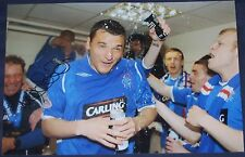 Lee McCulloch signed photo (Rangers)