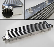"UNIVERSAL FRONT MOUNT INTERCOOLER TYPE S 550x140x65MM 2.5"" IN/OUT"