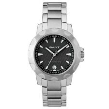 Gant Ladies Stainless Steel Watch St Claire W10961 Black Face New Boxed