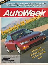 AutoWeek Jan 29, 1996 - BMW 318i - Dodge Neon - Nissan 200SX - Acura CL Coupe