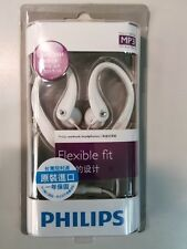 PHILIPS SHS3201, white earphone.