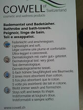 """COWELL"" Hochwertige BADEMANTEL,,SAUNAMANTEL,,Cowell Schweiz,,UVP € 110,= NEU!!!"