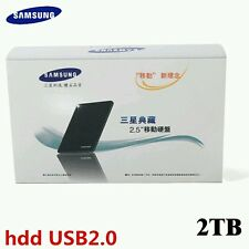 "SAMSUNG 2.5"" USB2.0 External Hard Drive 1TB/ 2TB Black HDD Portable disk"
