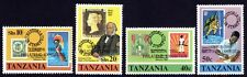 TANZANIA 1980 London80 Stamp Exh. o/p 4v set MNH @S4441