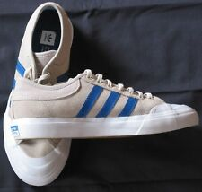Adidas mens 7.5 tan suede leather athletic shoes sneakers 3 stripes Fast ship