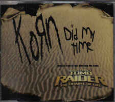 Korn-Did My Time Promo cd single