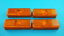 FREE P&P* 4 x Amber Side Marker Lamp Lights Radex model 905 - Trailer & Horsebox