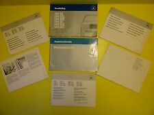 MERCEDES 380SEL 380SEL 500SEL SEC OWNERS MANUAL W126 IN GERMAN NICE ITEM #LA74