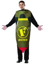 F Bomb Adult Men Costume Funny Comical Halloween Outfit