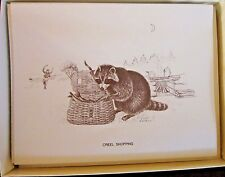 Woodland Animals Season Greeting, Boxed Note Cards, 10 Note Cards/10 Envelopes.