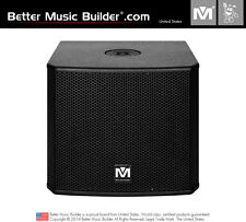 Better Music Builder DFS-112 SUB Bass Powered Subwoofer 1200W (Each)