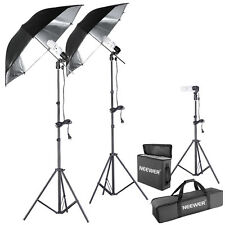Neewer 600W Umbrella Continuous Lighting Light Kit for Photography Studio 5500K