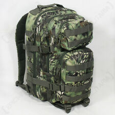 MANDRA Woodland Camo MOLLE RUCKSACK Assault Small Bag 20L BACKPACK Tactical Pack