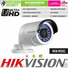 HIKVISION DS-2CD2042WD-I 4MM 4MP 2MP 1080P POE WDR Network IP Security Camera