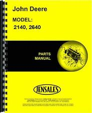John Deere 2140 2640 Tractor Parts Manual (JD-P-PC1539)