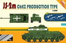 Dragon 1/35 JS-2m ChKZ Production Type 51 w/Soviet Gen 2 Weapons # 9151