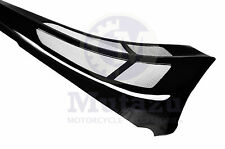 Mutazu Custom Vivid Black Chin Spoiler Scoop For Harley Touring Models FLTR FLH