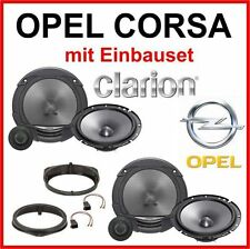 Speaker Box OPEL CORSA B / C Door Clarion 2-way with Adapter Installation kit