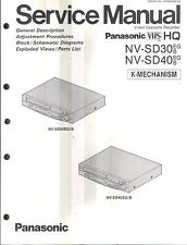 Panasonic Original Service Manual für  Panasonic NV - SD 30/40