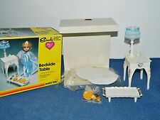 Marx Toys Vintage Sindy Doll Furniture Bedside Table Set IOB 1234