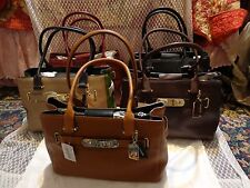 Coach swagger $395  Carry All satchel pebble leather Multi color choice