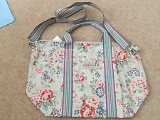 CATH KIDSTON FLORAL  LARGE FOLD AWAY SHOPPER COTTON BAG TOTE NEW