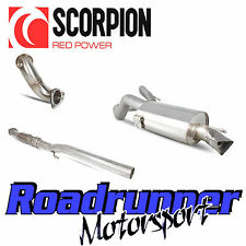 "Scorpion Corsa VXR Exhaust 3"" Turbo Back System Non Res Inc Sports Cat A16 10-13"