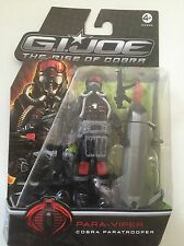 "G I - JOE PARA- VIPER "" Cobra Paratrooper "" Action Figure 3.75"""