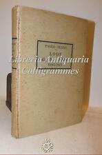 Paolo Orano, LODE AL MIO TEMPO 1895-1925 Apollo Bologna 1926 con Dedica Autore