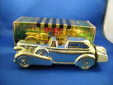 Avon Gold Cadillac Decanter With Box 1969-1973