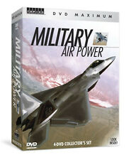 Militray Air Power Box 4 DVD Set - Jaw-dropping footage of aircraft! War F16 jet