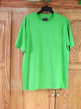 NEW MENS ST JOHNS BAY CHAMELEON GREEN PERFORMANCE SHORT SLEEVE T-SHIRT SZ SMALL