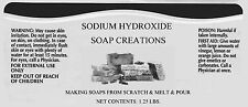 10 lbs High Food Grade Sodium Hydroxide, Caustic Soda, Lye, NaOH