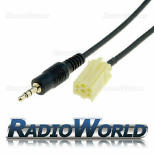 Fiat Grande Punto Aux-IN Input Adapter for IPOD/MP3 AUX 3.5mm Gold Jack