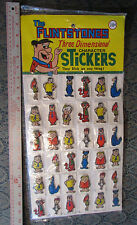 The FLINSTONES 3-D Character Stickers (c)1977 HBP #1034 Sealed Pkg of 36 ea 2""