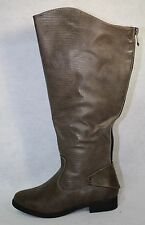 Journee Collection Mu-Sleek-Brown Women's Knee High Boot US Shoe Size 8.5 WC