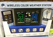 La Crosse Wireless Color Weather Station w/ Remote Sensor (Black) - Brand NEW