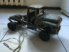 vintage USSR Russian Soviet Monster Truck motorised METAL