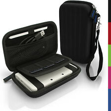 Black EVA Hard Carry Case Cover for New Nintendo 3DS 2015 Sleeve Bag Pouch + Str