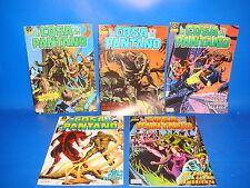 Lote de comics LA COSA DEL PANTANO 5 numeros nº 1 al 5 ediciones Zinco