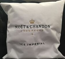 MOET CHANDON ICE IMPERIAL CHAMPAGNE OUTDOOR  WHITE CUSHION BRAND NEW  50x50cm