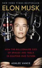 Elon Musk By Ashlee Vance Biography Tesla Paperback Book | NEW & Free Shipping
