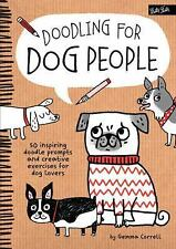 DOODLING FOR DOG PEOPLE - GEMMA CORRELL (PAPERBACK) NEW