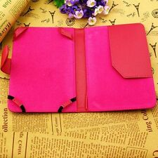 Rose PU Leather Folio Case Cover Pouch APLE For Ebook Amazon Kindle Touch #2