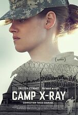 Camp X-Ray (2014) Movie Poster (24x36) - Kristen Stewart, Peyman Moaadi NEW