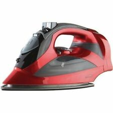 NEW Brentwood Appliances (MPI-59R) Steam Iron With Retractable Cord (Red)