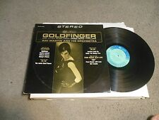James Bond 007 Goldfinger And other Music From Soundtrack LP Ray Martin & Orch